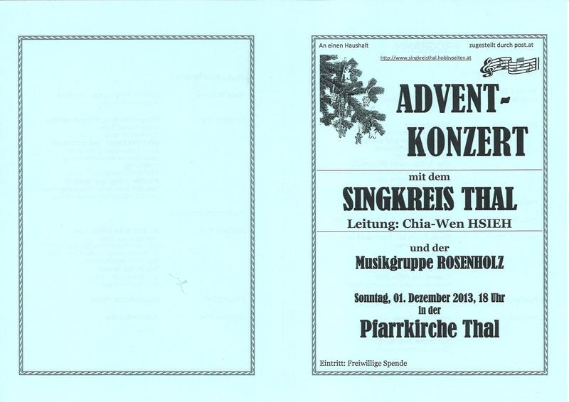 Programmheft Seite 1