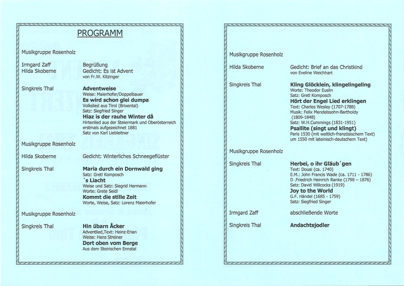 Programmheft Seite 2